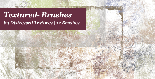 Textured Photoshop Brushes Ad